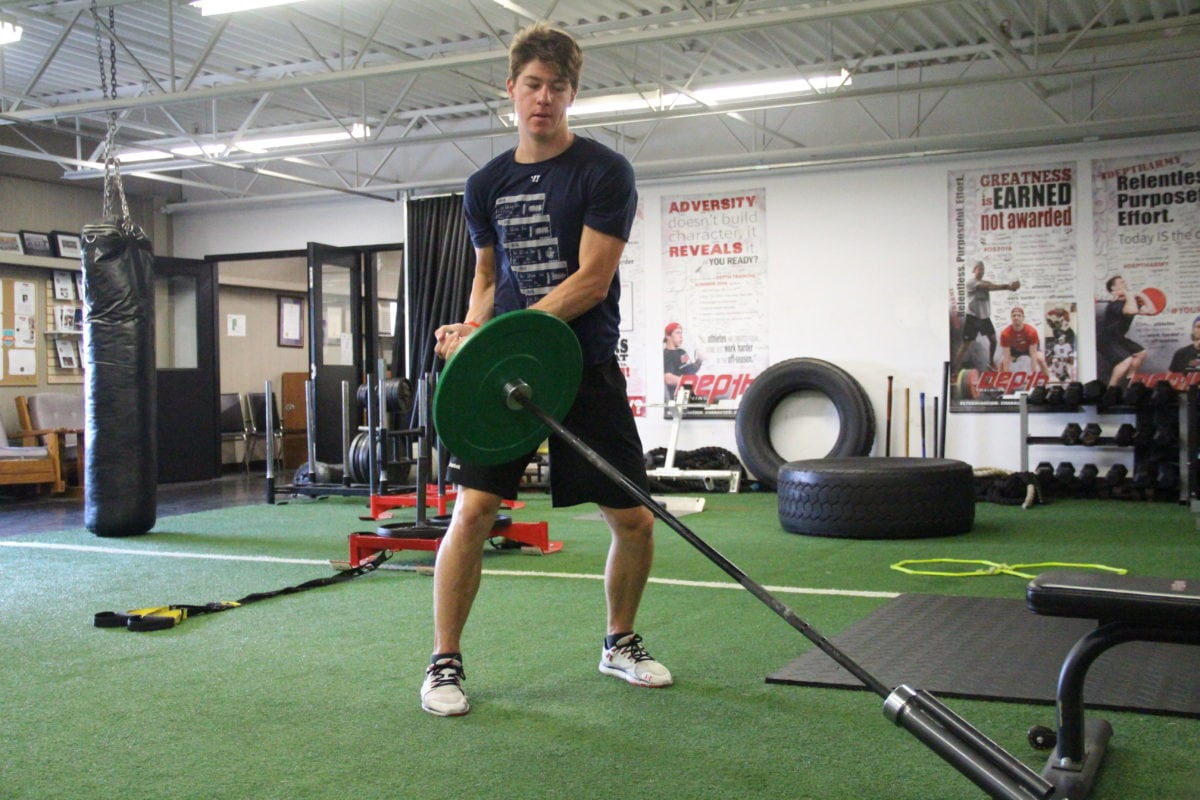 """a look into sport specific training technique for hockey """"goalie specific"""" hand-eye training by maria mountain m  this translates into possible bad habits for amateur goaltenders  patience and technique gatorade ."""
