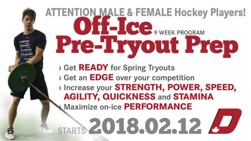Off-Ice Pre-Tryout Prep