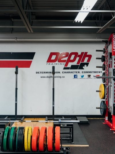 Depth Training Squat Racks