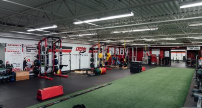 Depth gym turf