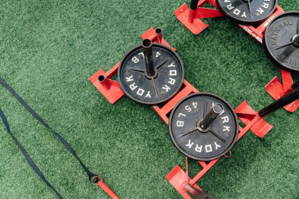 Depth turf and sleds