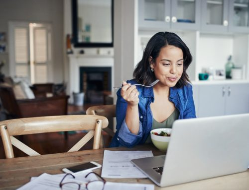 5 Tips For Eating Healthy While Working From Home